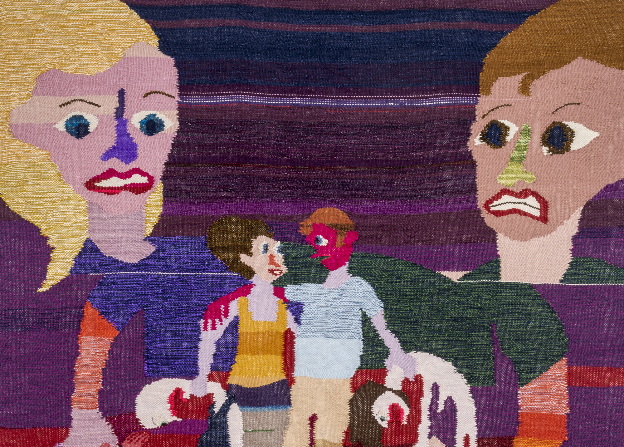 christina forrer grappling hold at swiss institute art jobs news christina forrer gebunden detail 2017 cotton and wool courtesy the artist and grice bench los angeles