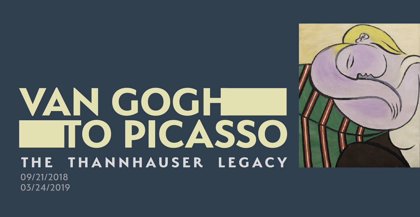 Image result for Van Gogh to Picasso: The Thannhauser Legacy
