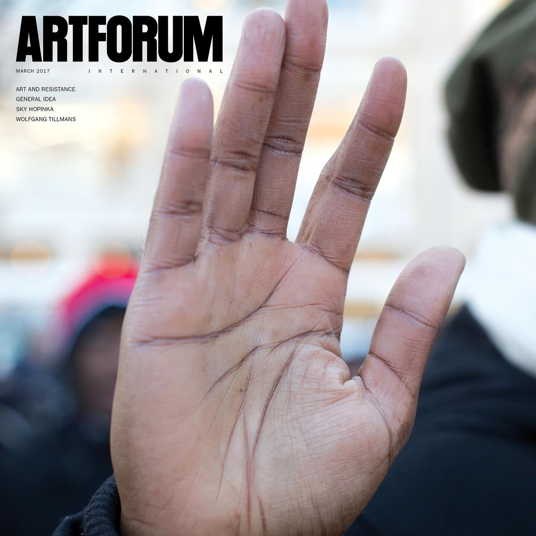 March 2017 In Artforum Announcements E Flux