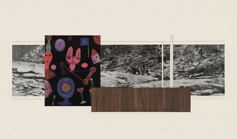 Mies Van Der Rohe The Moma Collages Announcements E Flux