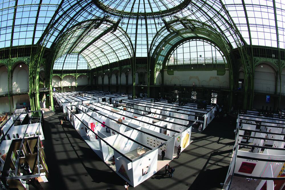 El espacio del Grand Palais es majestuoso