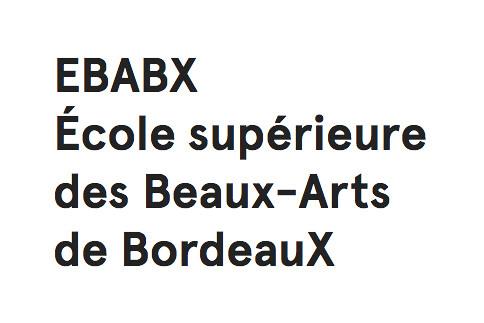 École Supérieure des Beaux-Arts de Bordeaux - Directory - Art & Education